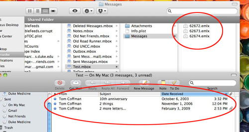 MarcusHesse com » Export From Outlook 2011 Mac & Import  eml